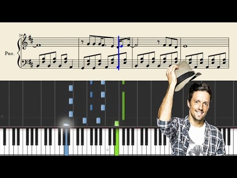 Jason Mraz - I'm Yours - Piano Tutorial + Sheets