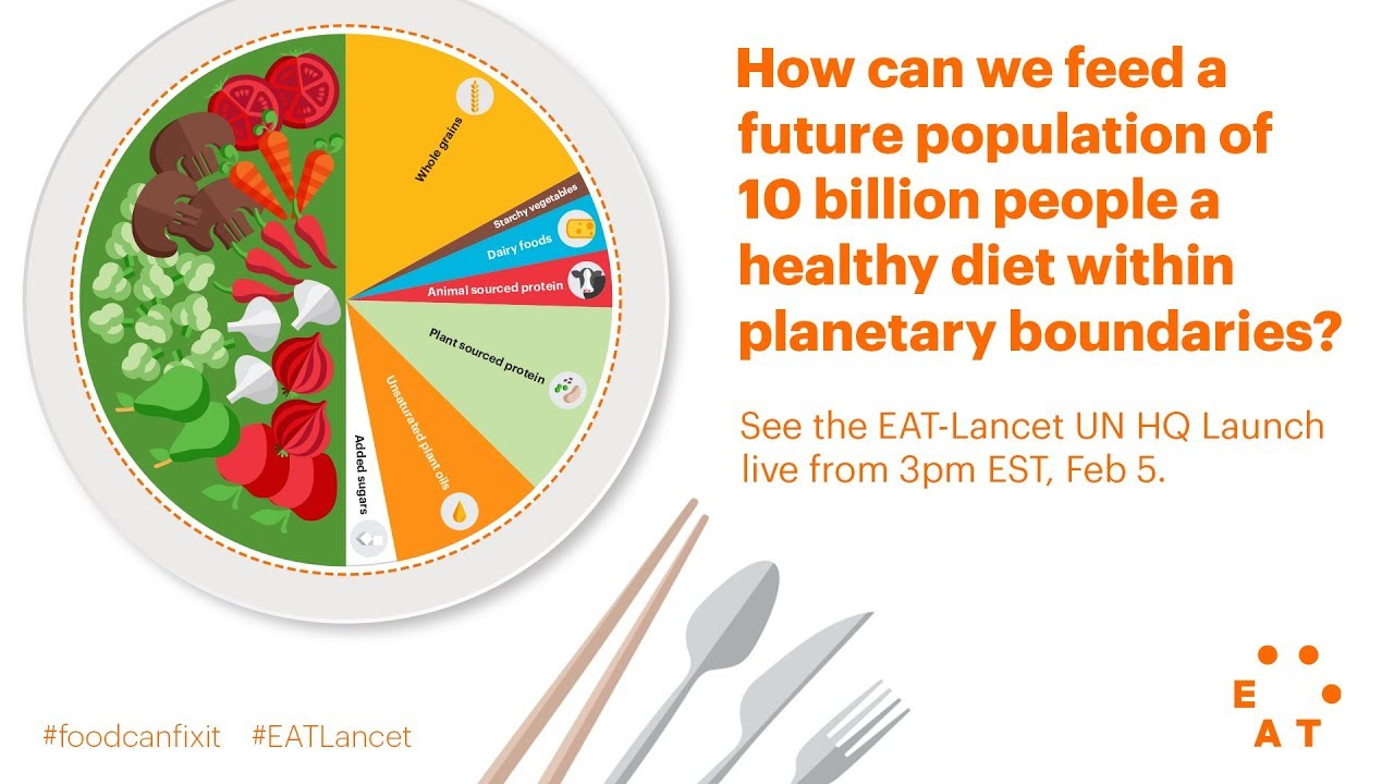 The Diet Of The Future Eat Lancet Un Launch Youtube