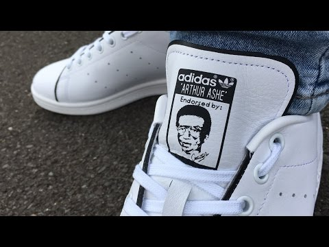 Adidas Arthur Ashe (1 of 1975) unboxing & on foot