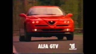 Spot Alfa Romeo 145 Quadrifoglio Verde, 146 Ti, GTV.  1995