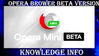 Opera Browser Beta Version App Review in Hindi#Opera App Features Explain in Hindi#Opera Browser screenshot 1