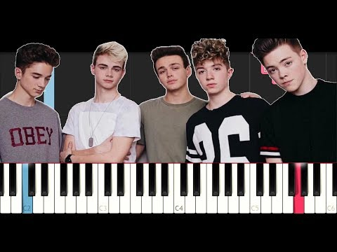 Why Don't We - Free (EASY Piano Tutorial)