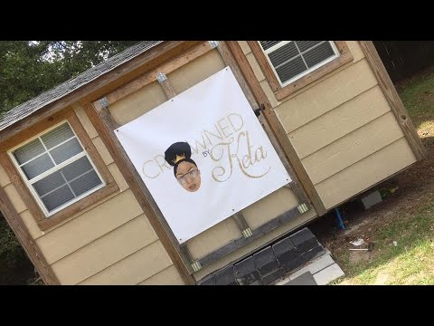 HOME SALON REVEAL | Storage Shed Turned Into Salon | DIY