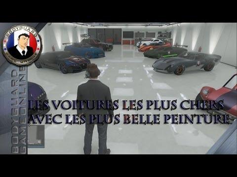 Gta 5 les voitures les plus chers avec les plus belle for Voiture garage gta 5