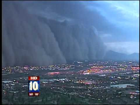 Massive dust storm hits Phoenix
