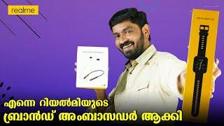 എന്നെ റിയൽമിയുടെ ബ്രാൻഡ് അംബാസഡർ ആക്കി 😅😅 || realme watch 2 pro and  Buds Wireless2 Malayalam Review