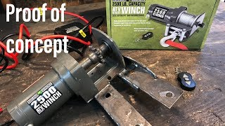 Installing Electric Reverse on the Two Speed Off Road Go Kart