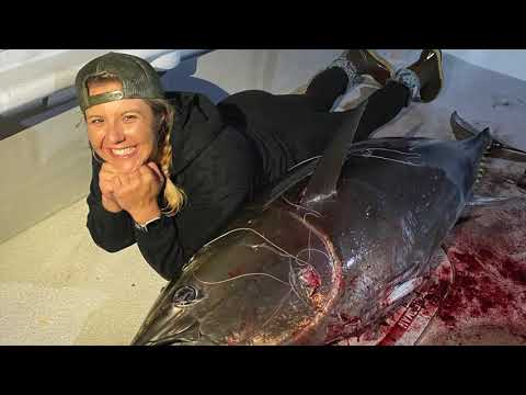 Fishing Big Bluefin Tuna On The Outer Limits In October 2020