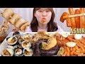 ASMR Mukbang 신전떡볶이와 고봉민 김밥, 순대, 튀김, 오뎅까지 분식 먹방!