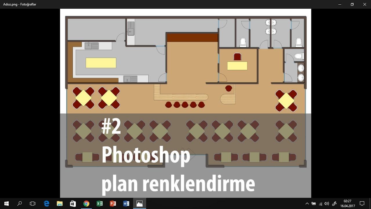 Photoshop Ile Plan Renklendirme Youtube