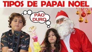 TIPOS DE PAPAI NOEL