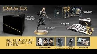 ( 30 ) UNBOXING DEUS ES MANKIND DIVIDED COLLECTOR