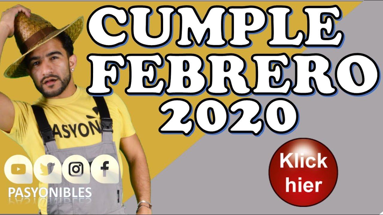 Happy Birthday February 2020