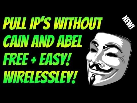 Cain And Abel Ip Puller - eyespoks