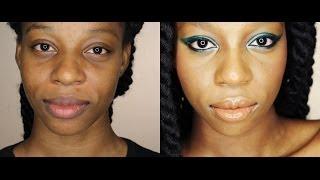 Emerald Eye Shadow Tutorial (Using Pigments)