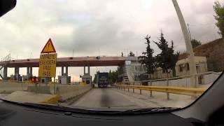 Driving on GR-8A from Kiato to Motorway's 8 exit to Tripoli (highway driving, Greece) - onboard cam