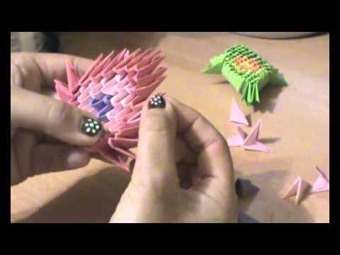 2ª Parte tortuga origami 3D taller Aprende Conmigo xvid