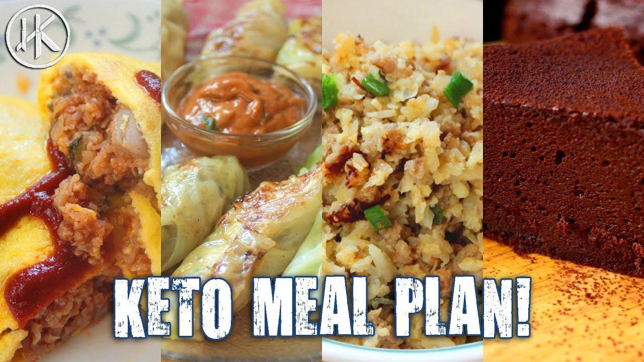 #MealPrepMonday - Episode 6 - 1500 Calorie Asian Keto Meal Plan (Keto Meal  Prep)