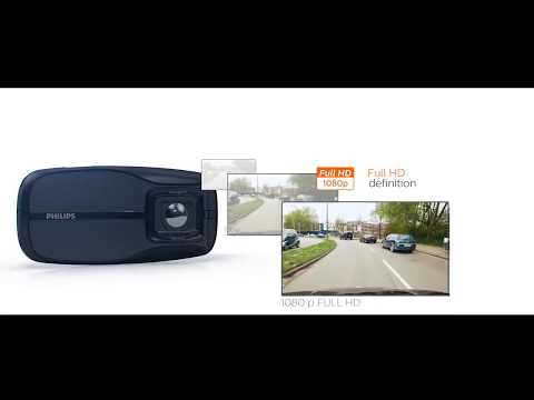 PHILIPS CAR ACCESSORIES - ADR810 - Your personal driving video recorder