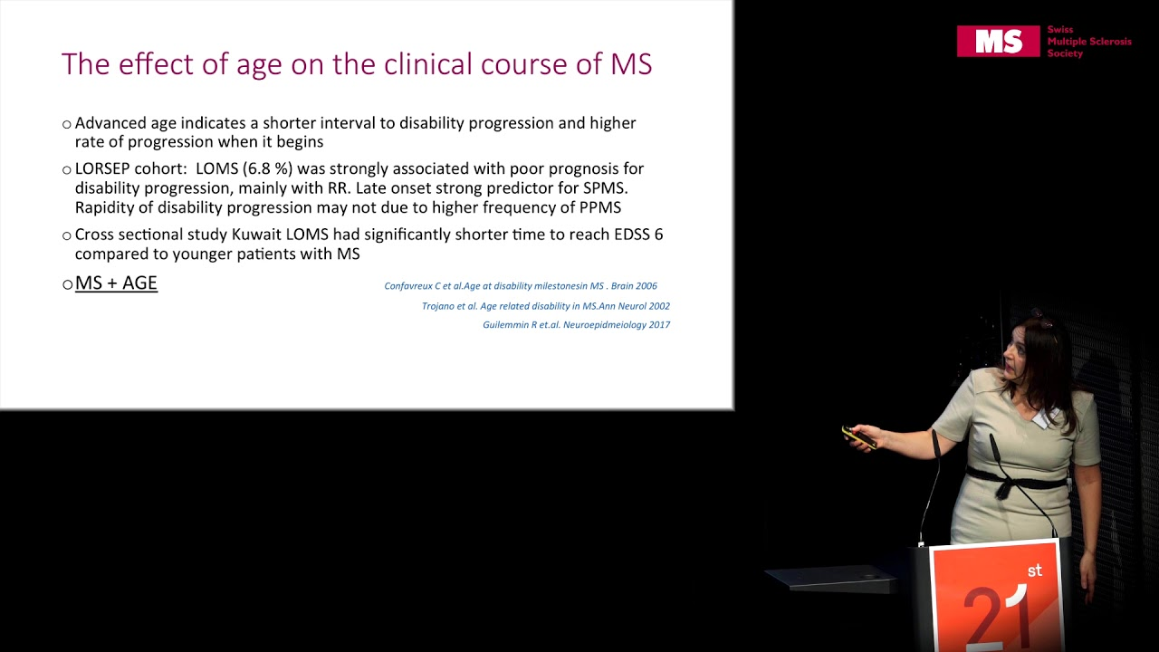 21st State of the Art Symposium – Melinda Magyari: Facing Challenges with MS and Old Age