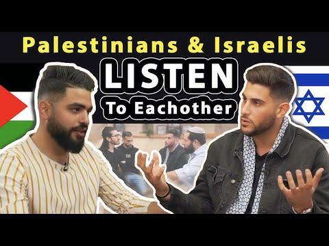 Palestinians \u0026 Israelis LISTEN To Each Other