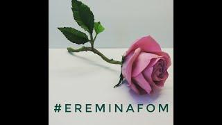 Стебель для розы из фоамирана #ereminafom