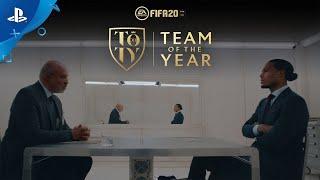 FIFA 20  Team of the Year Reveal Trailer ft Virgil Van Dijk  PS4