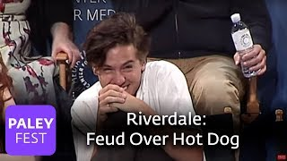 Riverdale - Cole Sprouse and Roberto Aguirre-Sacasa feud over Hot Dog