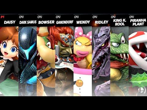 Princess Daisy vs. Evil Nintendo Villains(Early Halloween Special)
