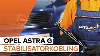Skifte Lenkearm OPEL ASTRA: verkstedhåndbok