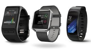 Top 5 Smartbands  Heart Rate,  Fitness Trackers  2017