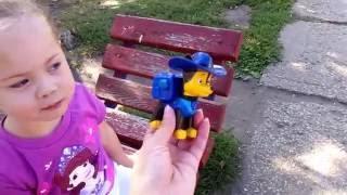 Щенячий патруль игрушки PAW PATROI TOYS на детской площадке