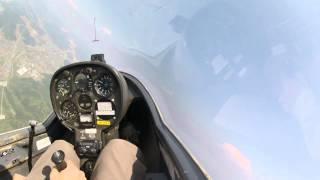 飛行機曳 離脱、30分後。 この後に、8000ftまで上昇。 回っている時...