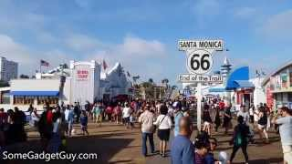 UHD Video Walk: A Day in Santa Monica (Shot on the AT&T Samsung Galaxy S5 Active)