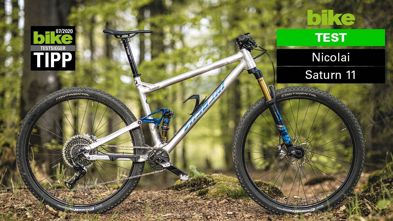 "Nicolai Saturn 11: BIKE-Testsieger und superleichtes Trailbike ""made in Germany"""