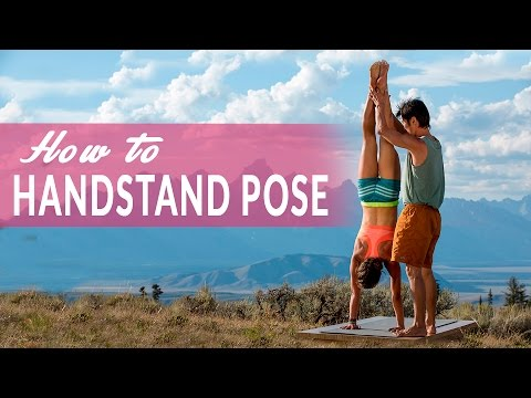 How To Handstand Pose or Adho Mukha Vrksasana with Simon Park