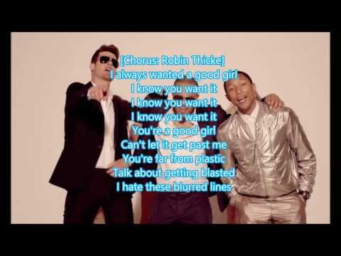 Pharrell blurred lines t robin ft i download lyrics thicke mp3