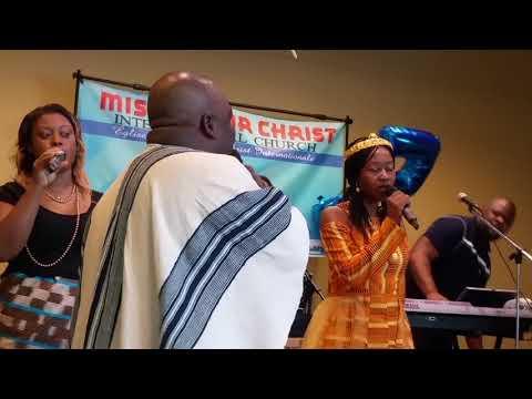 01 Adonai we worship you   Groupe Psaume 150   MFCI Church 5 Ans Dejà, Jour 3   Dimanche 1er Juillet