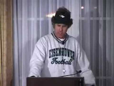 Will Ferrell as Coach Ricky Jimmy (FULL clip)