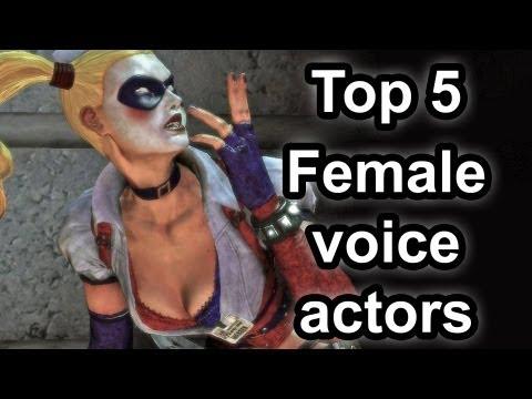 Top 5 - Female voice actors