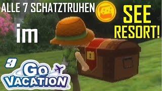 ALLE 7 SCHATZTRUHEN IM SEERESORT! - Wii Go Vacation (Let