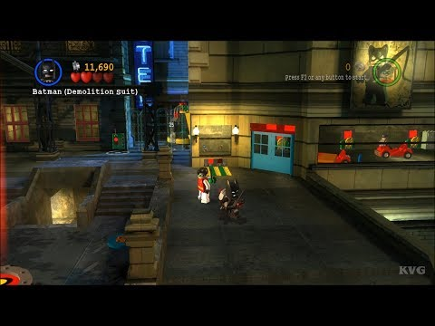 LEGO Batman: The Videogame Gameplay (PC HD) [1080p60FPS]