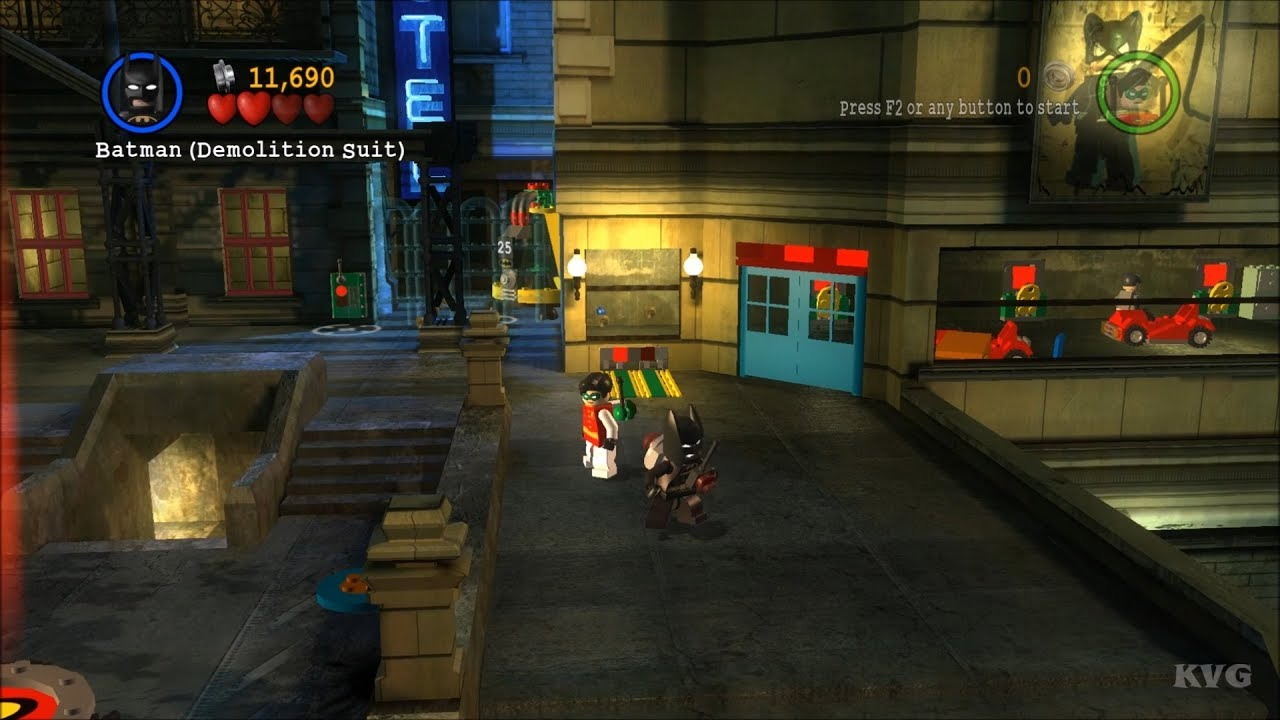 LEGO Batman: The Videogame Gameplay (PC HD) [1080p60FPS ...
