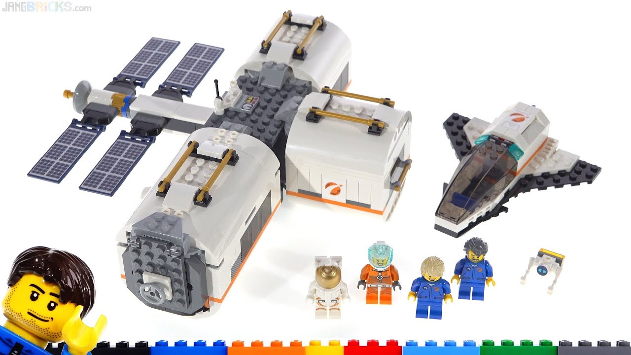 lego city lunar space station amazon - photo #14