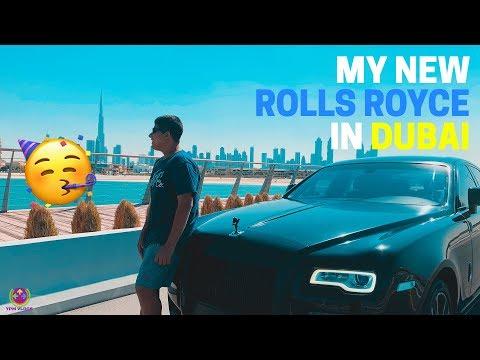 My Personal Rolls-Royce in Dubai !! 😍😍😍