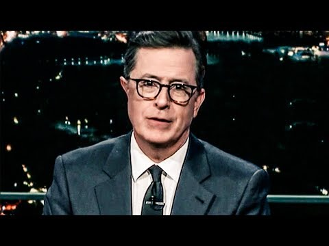 """Stephen Colbert Trolls Trump By Campaigning For """"Fakest News"""" Award"""