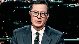"Stephen Colbert Trolls Trump By Campaigning For ""Fakest News"" Award"