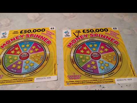 NEW LUXURY LINES...Money Spinners..Scratchcards...and Others