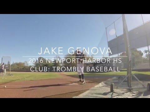 Jake Genova (Extended) - Newport Harbor High School 2016