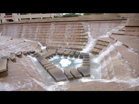 Fort Worth, Texas - Fort Worth Water Gardens HD (2016)